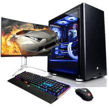 Warcraft Infinity Pro Gaming PC Gaming  PC