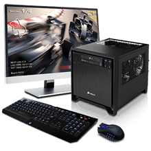 Optimus 400SF Mini Desktop Gaming  PC