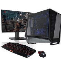 Chrome Series Reflector Gaming  PC