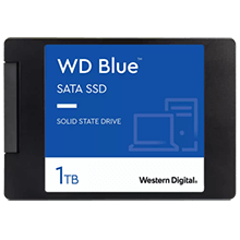 "FREE SSD Upgrade from 1TB WD Green to 1TB WD Blue 2.5"" SSD"