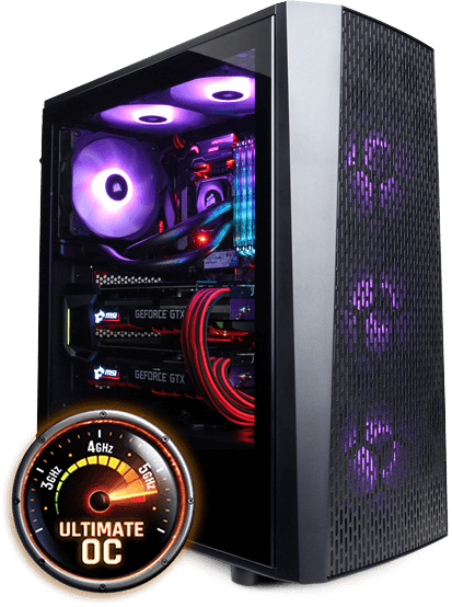 OVERCLOCKED GAMING PCs case