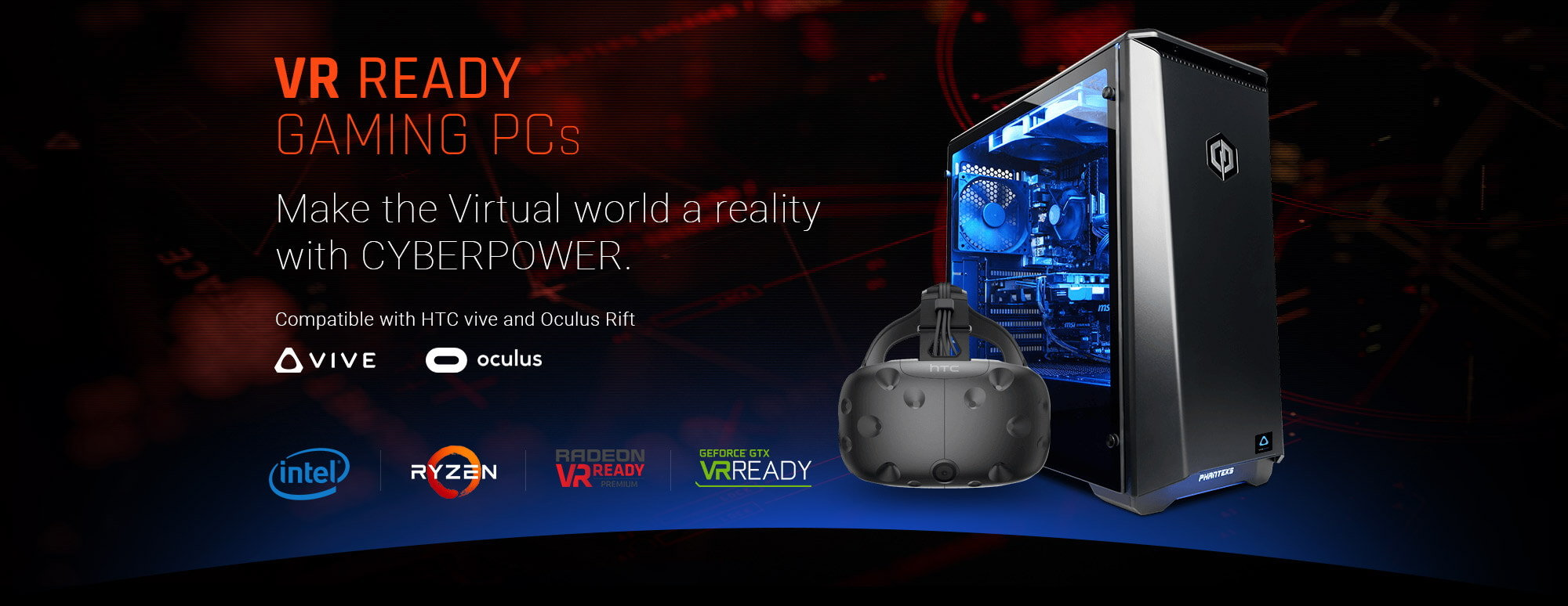 VR Ready Gaming PCs