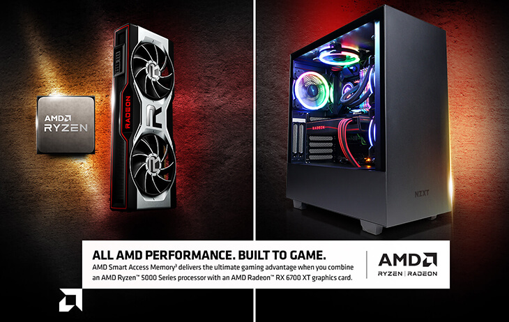 ALL AMD PERFORMANCE. BUILT TO GAME.